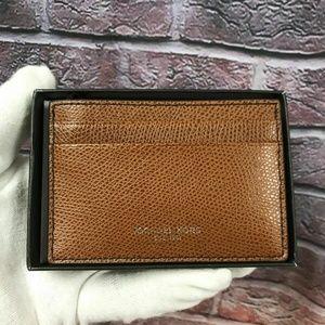 Mens Leather Card Holder Case Money Clip 36T7LWRD6
